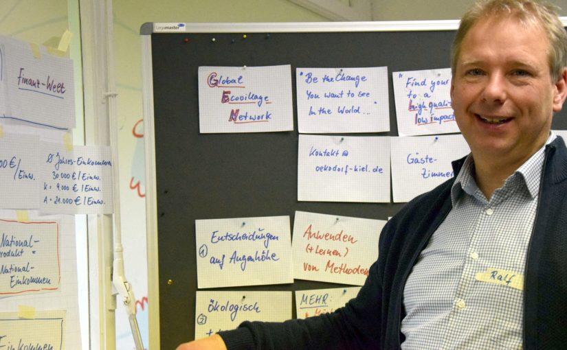 High quality, low impact Lifestyle − Ralf Boje ist Wegbereiter für den Wandel