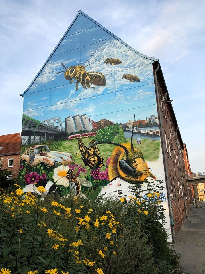Wandbild Theodor-Heuß-Ring, Kiel